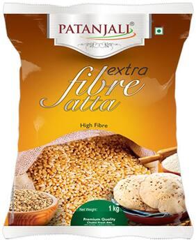 Patanjali Extra Fibre Atta 1 kg(*pack of 2)