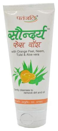 Patanjali Face Wash - Saundarya 60 ml