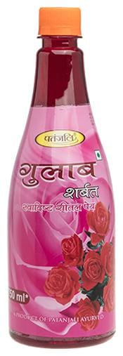 Patanjali Gulab Sharbat  750ml (Pack of 2)