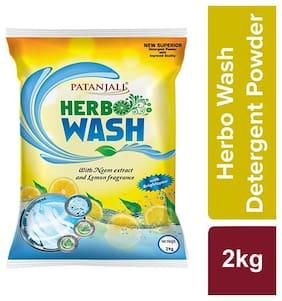 Patanjali Herbo Detergent Powder 2 kg