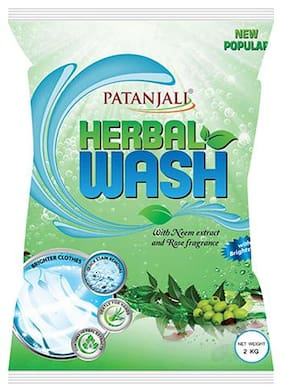 Patanjali herbal Wash Detergent Powder-2kg