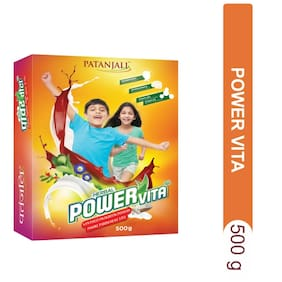 Patanjali Herbal Powervita 500 g (Refill Pack)