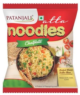 Patanjali Instant Noodles - Atta, Chatpata 60 g