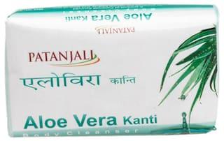 Patanjali Kanti Aloevera Body Cleanser 75 g