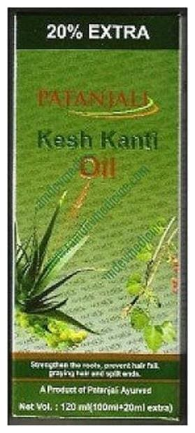 Patanjali Kesh Kanti Hair Oil 120Ml