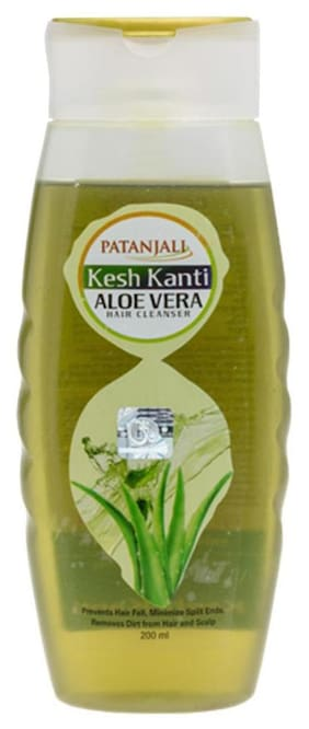 Patanjali Kesh Kanti Hair Cleanser Aloevera 450 ml