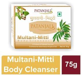 Patanjali Multani-Mitti Body Cleanser 75 g (Pack of 4)