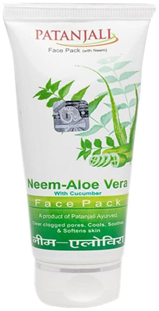 Patanjali Neem Aloevera With Cucumber Face Pack 60 g