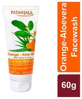 Patanjali Orange Aloevera with Neem & Tulsi Face Wash 60 G