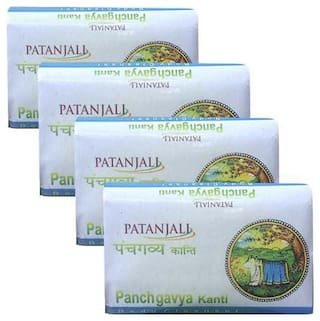 Patanjali Panchgavya Body Cleanser 75 g(*Pack of 4)