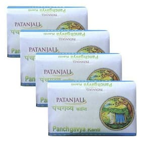 Patanjali Panchgavya Body Cleanser 75 gm(*Pack of 4)