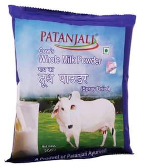 Patanjali Cows Whole Milk Powder 200 Gm