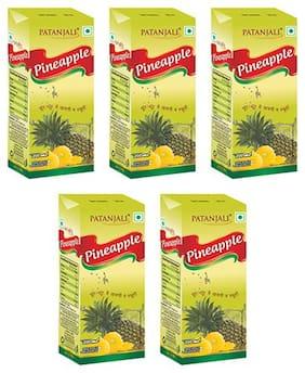 Patanjali pineapple juice 200 ml Each (Pack of 5)