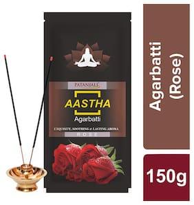 Patanjali Rose Agarbatti 150 G ( pack of 2)