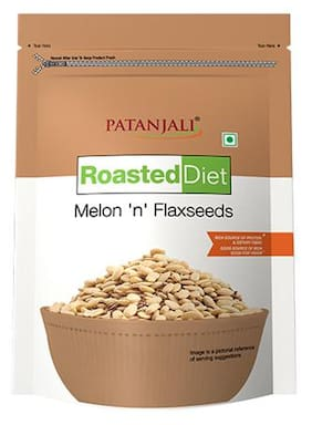 Patanjali Roasted Diet-Melon'N' Flaxseeds 150 g