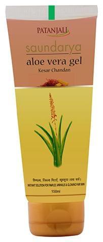 Patanjali Saundarya Aloevera Kesar Chandan Gel 150 ml