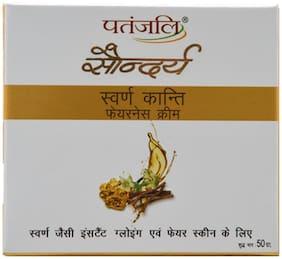 Patanjali Saundarya Swarn Kanti Fairness Cream 50 gm