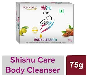 Patanjali Shishu Care Body Cleanser 75 (Pack of 2)