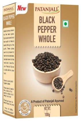 Patanjali Spice - Black Pepper Whole 100 g