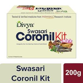 Patanjali Swasari Coronil Kit (Pack of 1), Immunity Booster