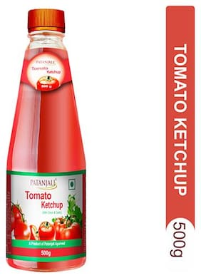 Patanjali Tomato Ketchup with Onion & Garlic 500 g