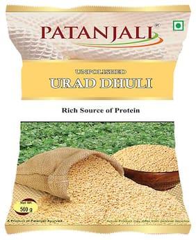 Patanjali Urad Dhuli 500 g (Pack of 2)