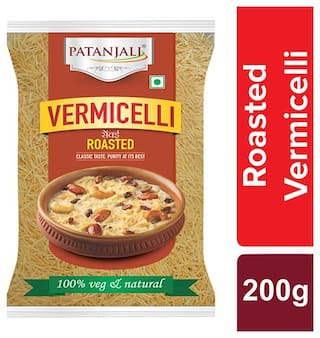 Patanjali  Vermicelli Roasted 200 G ( pack of 2 )