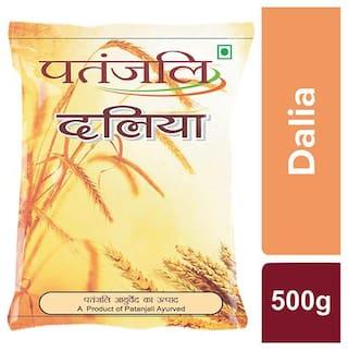 Patanjali Wheat Dalia 500g Pack of 1