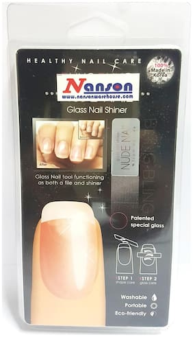Patented Special Glass Nail Shiner