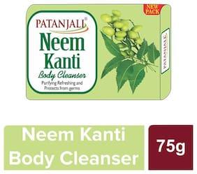 Patnjali Neem Kanti Body Cleanser 75 g (Pack of 4)