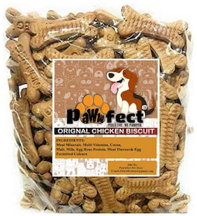 Pawwfect Freshly Baked Original Chicken Dog Biscuits 500g (Pack of 1 )