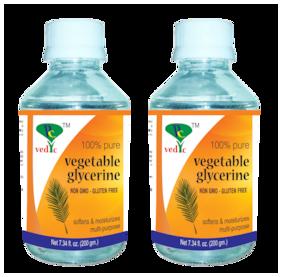 Pc vedic Vegetable Glycerine (non gmo-gluten free) 200g (Pack Of 2)