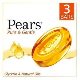 Pears Bathing Soap - Pure & Gentle 75 gm 3 Bars