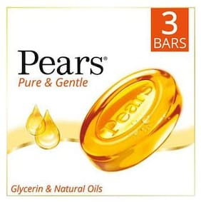 Pears Bathing Soap - Pure & Gentle 75 g 3 Bars