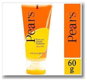 Pears Pure & Gentle Face Wash 60 Gm