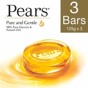 Pears Soap Bar - Pure & Gentle 125 gm