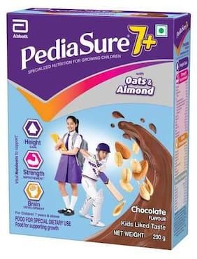 Pediasure 7+ Specialised Nutrition Drink Powder For Growing Children - Chocolate Flavour 200 g