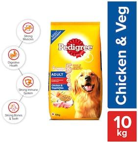 Pedigree Adult Chicken And Vegetables Dog Food 10 kg