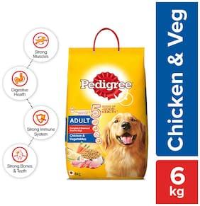 Pedigree Adult Chicken And Vegetables 6Kg