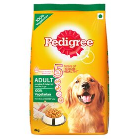 Pedigree (Adult - Dog Food) Vegetarian  3 kg Pack