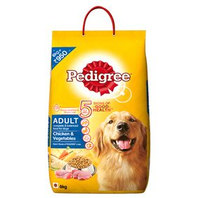 Pedigree Adult Dog Food Chicken & Vegetable 6 kg