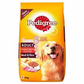 Pedigree Adult Dog Food Meat & Rice 10 kg