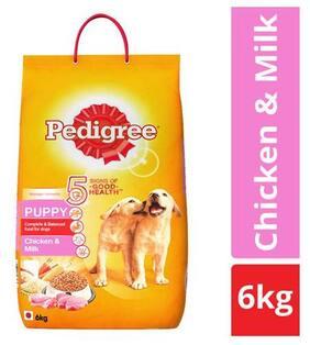 Pedigree Dry Food Chicken & Milk  For Puppy 6 Kg