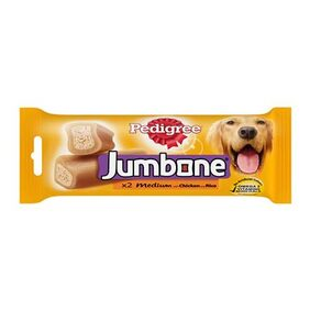 Pedigree Jumbone( Adult - Dog Treats) Chicken and Rice 200gm Pouch