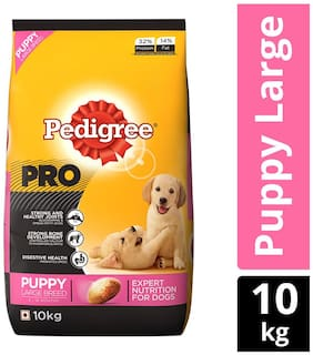 Pedigree PRO, EXPERT NUTRITION for Dogs (Dry Food for Puppy Large Breed, 3-18 months), 10 KG