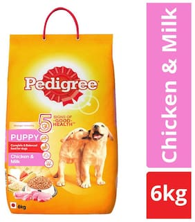Pedigree Puppy Chicken And Milk 6Kg