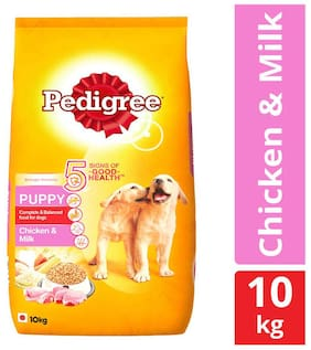 Pedigree Puppy Chicken And Milk 10 kg