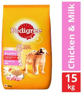 Pedigree Puppy Milk, Chicken Dog Food 15 kg