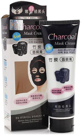 Peel Off Black Mask Blackhead Remover with Original activated charcoal for absorption of blackheads from Nose & Acne Treatment Oil Control  (130gm)