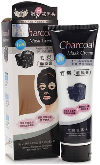 Peel Off Black Mask Blackhead Remover with Original activated charcoal for absorption of blackheads from Nose & Acne Treatment Oil Control  (130g)